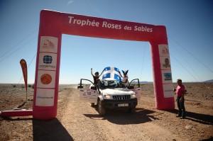 Le Rallye Trophée Roses des sables 2012