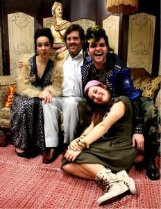 Juliette, Réginald,Charles et Florence