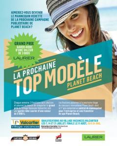 LA PROCHAINE TOP MODÈLE PLANET BEACH AU VILLAGE VACANCES VALCARTIER
