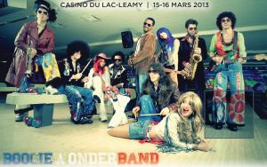 Boogie Wonder Band au Théâtre du Casino