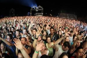 La foule d'Osheaga 2012