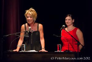 Diane Blanchette directrice et Mireille Pouliot coordonatrice au art de la scène