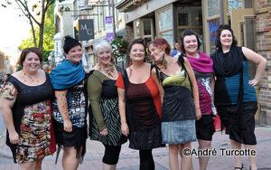 Julie Fortin,Caroline Blouin,Johane Thibault,Lise Breton,Christine Vézina designer,Gabrielle Marois,Valérie Asselin