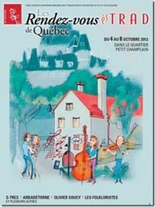 Les Rendez-vous ès TRAD, du 4 au 8 octobre dans le quartier Petit Champlain