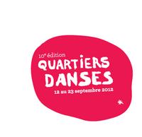 Logo du festival Quartiers Danses
