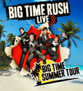 Big Time Rush - 4 septembre - Centre Bell