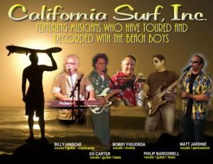 CALIFORNIA SURF, INC. LE VENDREDI 17 AOÛT À 21 H