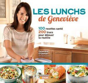 Couverture du livre Les lunchs de Geneviève