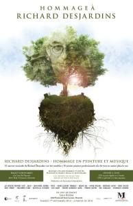 Richard Desjardins : Hommage en musique et peinture