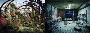 Botanic Garden et Laundromat at Night de Lori Nix