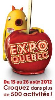 La jeunesse en vedette,  jusqu'au 26 août 2012 à Expo Québec