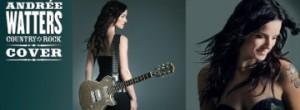 Andrée Watters lance aujourd'hui l'album COUNTRY ROCK COVER