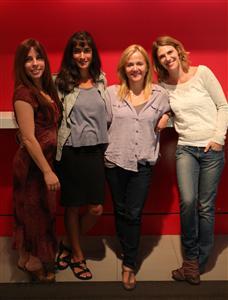 Anne Casabonne, Geneviève Rochette, Brigitte Lafleur et Hélène Florent