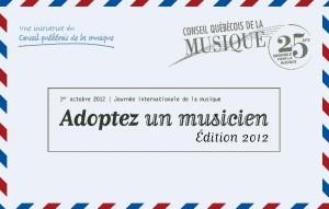 Adoptez un musicien ! »