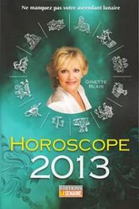 Horoscope 2013 - Ginette Blais