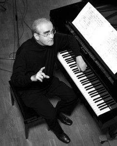 Michel Legrand au piano