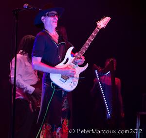 Steve Vai et ses musiciens