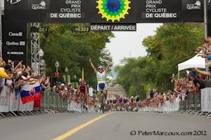 Simons Gerrans Vainqueur grand prix cycliste Québec