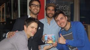Jesse Proteau, Olivier Fiset, Bruno Harinen, André Simard