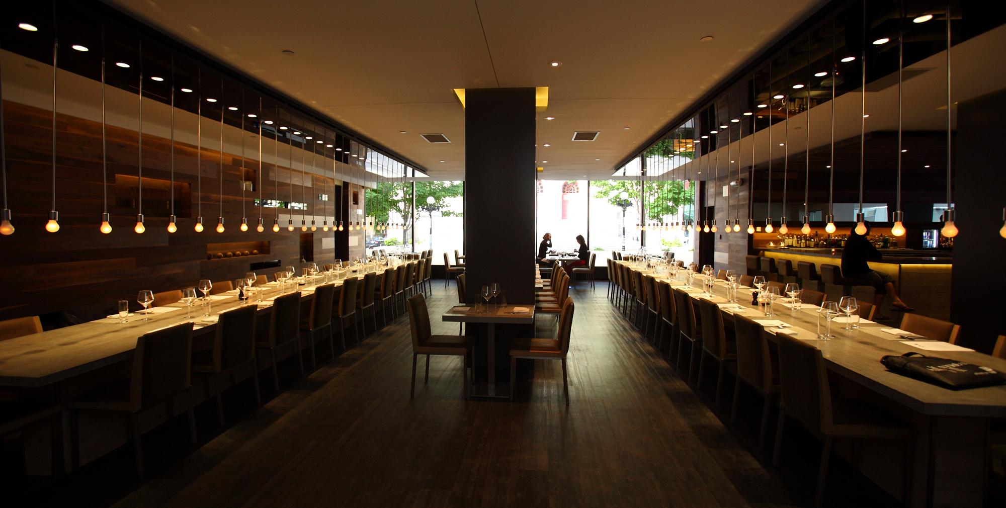 Le restaurant Table