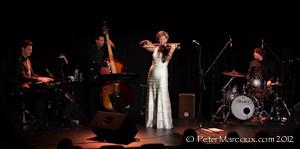 Roxane de Lafontaine et ses musiciens
