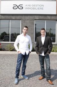 Yanik Guillemette, Président Guillemette Propriétés et AX6 Gestion Immobilière Inc. et Kevin Henley, Développeur Immobilier – AX6 Gestion Immobiliere