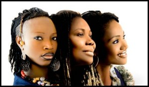 Dobet Gnahoré, Manou Gallo & Kareyce Fotso