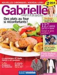 Gabrielle, Complice de ton quotidien, Octobre-novembre 2012