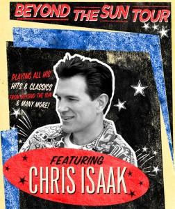 Chris Isaak -  mardi 30 octobre - Théâtre St-Denis