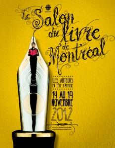 Le Salon du livre de Montréal: plein feux sur les auteurs!