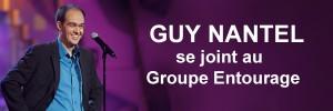 Guy Nantel se joint au Groupe Entourage