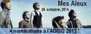 le 26 octobre à 20 h à la salle André-Prévost.