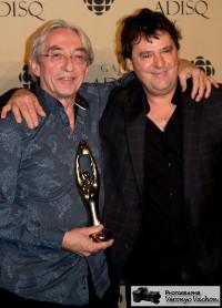 Richard Desjardins et Claude Fradette