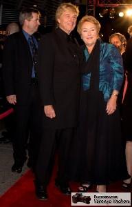 Pauline Marois Première ministre du Qc avec son mari Claude Blanche