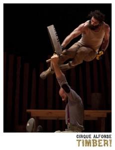 Le Cirque Alfonse à la salle Méchantigan de Sainte-Marie le samedi 10 novembre