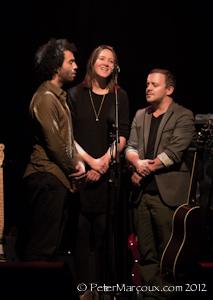 Sophie Hunger et ses musiciens