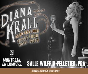 Diana Krall  à la Salle Wilfrid-Pelletier