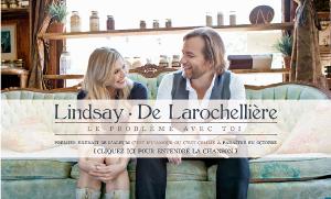 Andrea Lindsay et Luc De Larochellière et leur album C'est d'l'amour ou c'est comme
