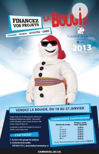 Bougie et Effigies du Carnaval de Québec 2013