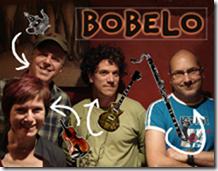 Bobelo, le dimanche 14 octobre à 16 h au Café Babylone