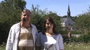 Normand Chouinard et sa fille Rosine Chauveau-Chouinard