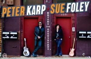 Peter Karp- Sue Foley à l'Upstairs le 3 novembre