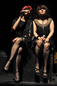 Mélanie Pain et Liset Alea.
