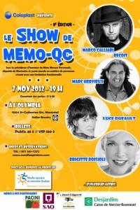 MEMO-QC 2012 L'OLYMPIA & MARCO CALLIAR
