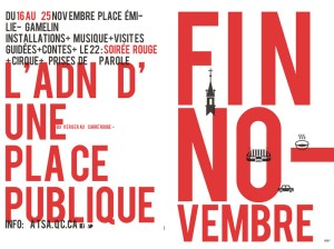 ATSA - Fin novembre du 16 au 25 novembre Place Émilie-Gamelin