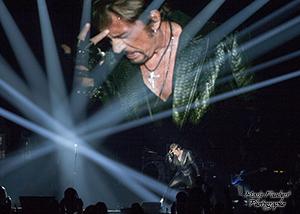 Johnny dans la lumiére