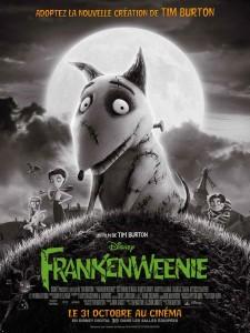 Frankenweenie au cinéma de Montmagny