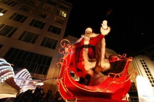 le Père Noël de la Parade des jouets