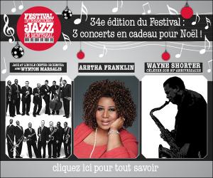34e édition du Festival : 3 concerts en cadeau pour Noël
