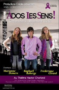 spectacle À Dos Les Sens!